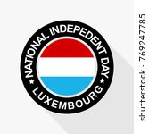 national indepedent day of... | Shutterstock .eps vector #769247785