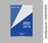 annual report  flyer ... | Shutterstock .eps vector #769254592
