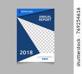 annual report  flyer ... | Shutterstock .eps vector #769254616