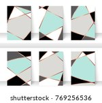 pastel abstract pattern... | Shutterstock .eps vector #769256536