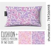 design vector pillow  cushion . ... | Shutterstock .eps vector #769266448