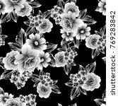 abstract elegance seamless... | Shutterstock . vector #769283842