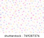 Abstract Multicolored Confetti...