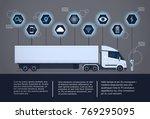 set of infographic elements...   Shutterstock .eps vector #769295095