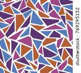 vector seamless   broken glass  ... | Shutterstock .eps vector #769295152