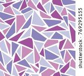 vector seamless   broken glass  ... | Shutterstock .eps vector #769295155