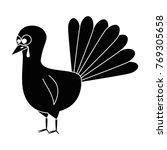 thanksgiving turkey character... | Shutterstock .eps vector #769305658