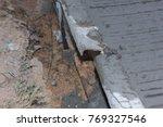 concrete road under... | Shutterstock . vector #769327546