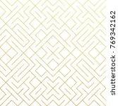 golden abstract geometric...   Shutterstock .eps vector #769342162