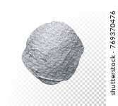 silver paint brush stain or... | Shutterstock .eps vector #769370476