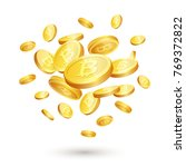 illustration of realistic 3d... | Shutterstock . vector #769372822