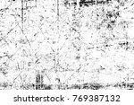 grunge black and white pattern. ... | Shutterstock . vector #769387132