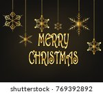 celebratory background with...   Shutterstock .eps vector #769392892