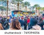 new orleans   february 9  2016  ... | Shutterstock . vector #769394056