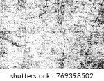 grunge black and white pattern. ... | Shutterstock . vector #769398502