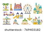children entertainment... | Shutterstock .eps vector #769403182