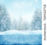 merry christmas and happy new... | Shutterstock . vector #769410718