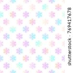 holiday background  seamless... | Shutterstock .eps vector #769417678