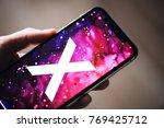 nova bana  slovakia   nov 28 ... | Shutterstock . vector #769425712