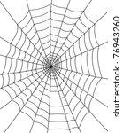 spider web | Shutterstock .eps vector #76943260