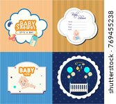 baby badges collection various... | Shutterstock .eps vector #769455238