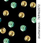 sequins seamless pattern.... | Shutterstock . vector #769462072
