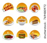 food icon set | Shutterstock . vector #769480972