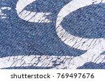 abstract macro texture... | Shutterstock . vector #769497676