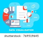 vector bright business... | Shutterstock .eps vector #769519645
