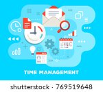 vector colorful business... | Shutterstock .eps vector #769519648