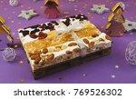 traditional italian festive...   Shutterstock . vector #769526302