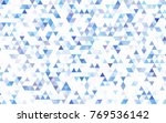 light blue vector abstract... | Shutterstock .eps vector #769536142