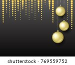 background for a christmas and... | Shutterstock .eps vector #769559752