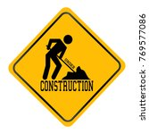 under construction backgrouind | Shutterstock .eps vector #769577086
