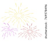 happy new year | Shutterstock .eps vector #769578496