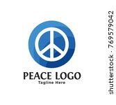 sign hippie peace icons set in... | Shutterstock .eps vector #769579042