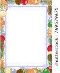 vector color holiday template ... | Shutterstock .eps vector #769579675