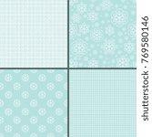 seamless decorative patterns... | Shutterstock .eps vector #769580146