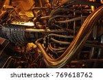 power plant energy power...   Shutterstock . vector #769618762