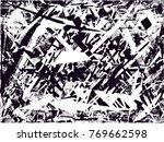 print distress background in... | Shutterstock .eps vector #769662598