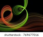 green and red multiple... | Shutterstock .eps vector #769677016