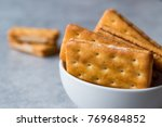sandwich crackers with cheese...
