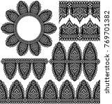 vector set of design elements ...   Shutterstock .eps vector #769701382