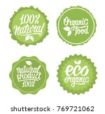 set  of lettering for  stickers ... | Shutterstock .eps vector #769721062