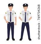 man in police uniform   cartoon ...   Shutterstock .eps vector #769734268