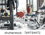 real bodybuilder doing his... | Shutterstock . vector #769734472