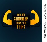 """""""you are stronger than you... 