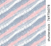 striped pattern with brushed...   Shutterstock .eps vector #769756078