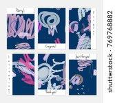 hand drawn creative universal... | Shutterstock .eps vector #769768882