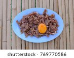 blurred and select focus   raw... | Shutterstock . vector #769770586
